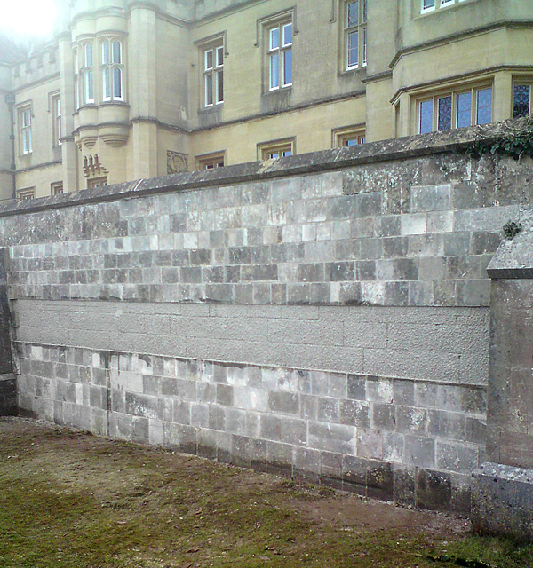 Ashlar Wall After