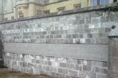 Ashlar Wall After